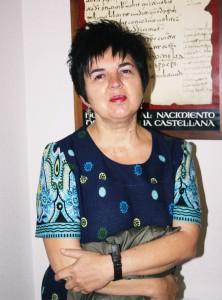Escritora Gloria Rivas